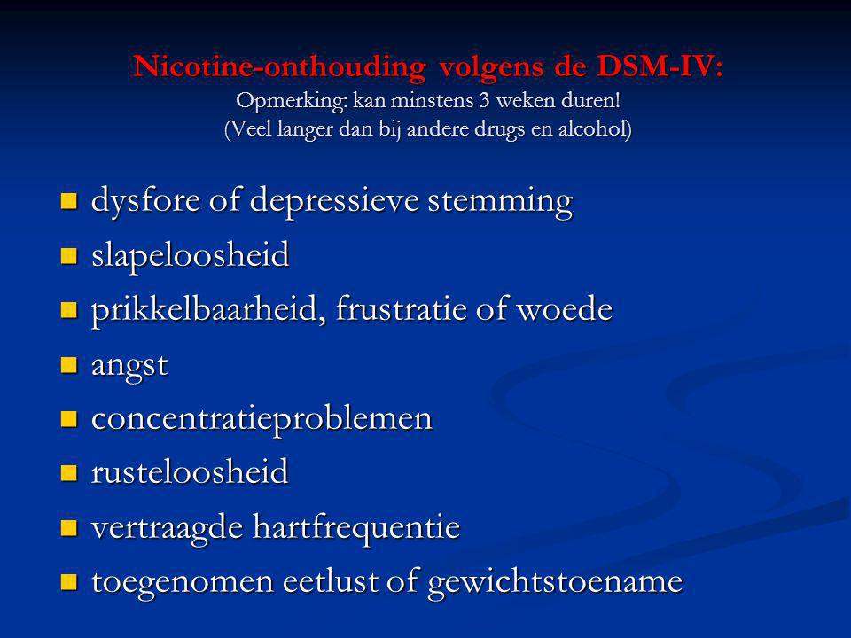 dysfore of depressieve stemming slapeloosheid