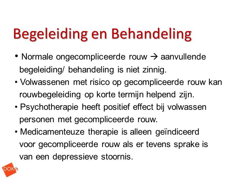 Begeleiding en Behandeling