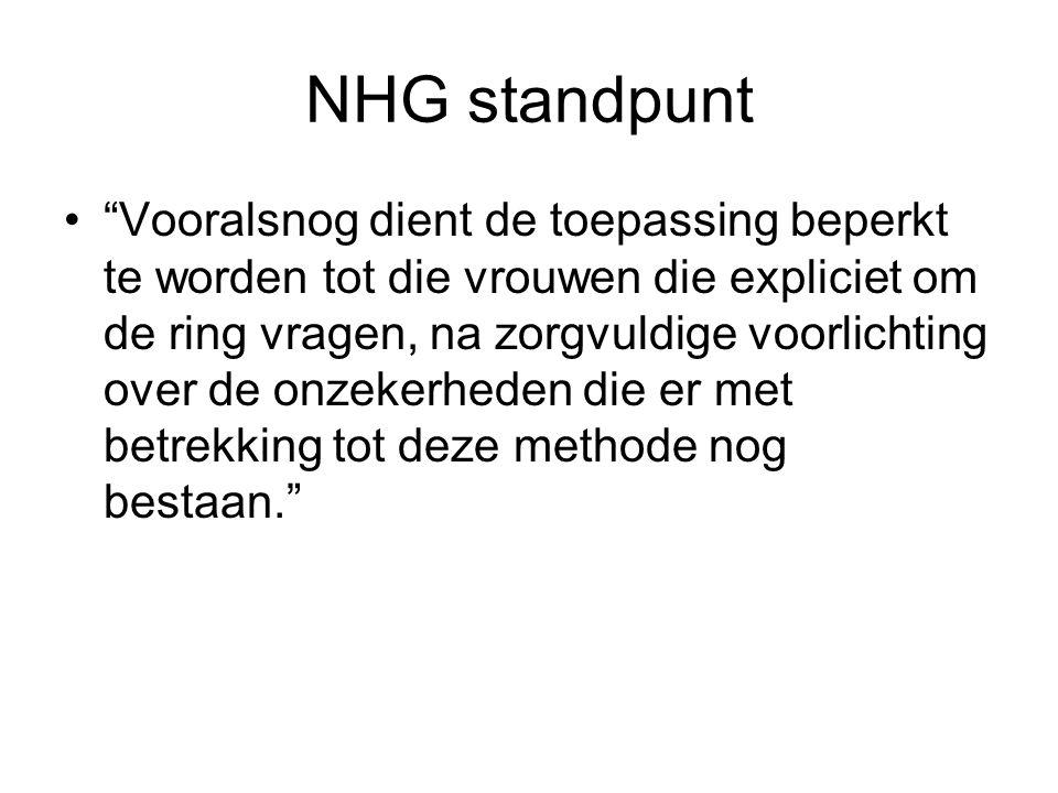 NHG standpunt