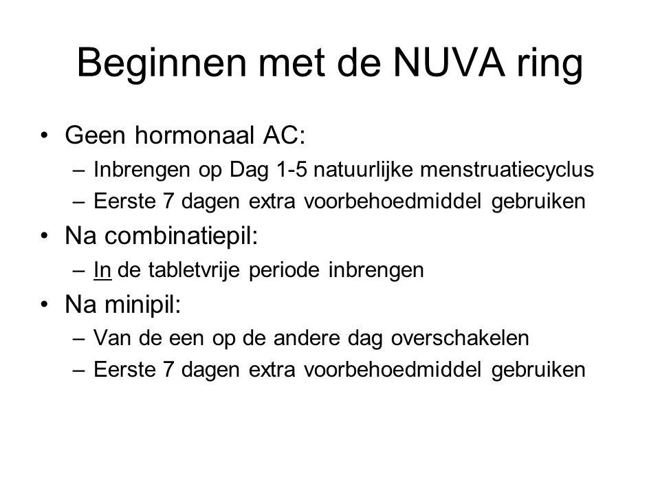 Beginnen met de NUVA ring