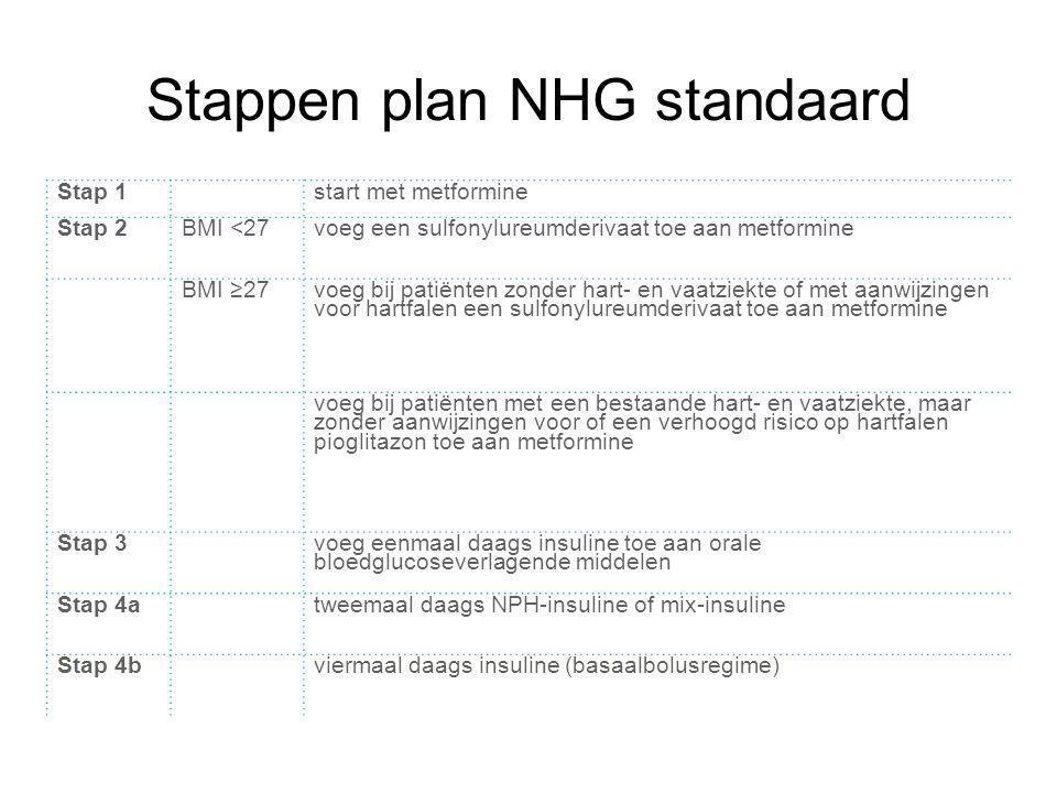 Stappen plan NHG standaard
