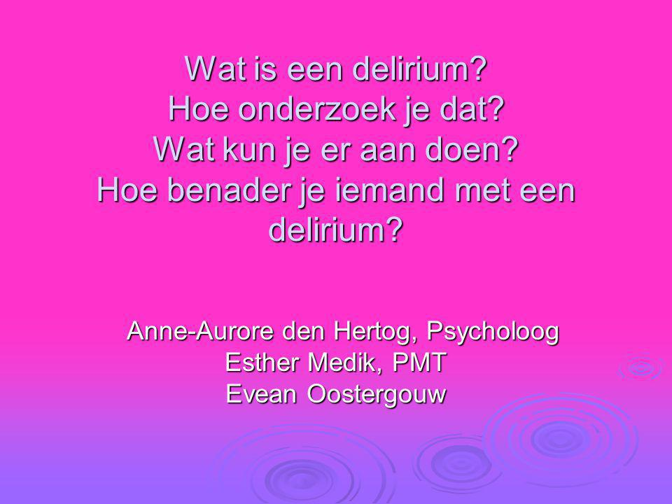 Anne-Aurore den Hertog, Psycholoog Esther Medik, PMT Evean Oostergouw