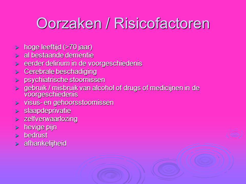 Oorzaken / Risicofactoren