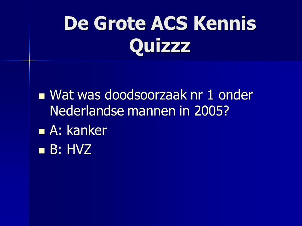De Grote ACS Kennis Quizzz