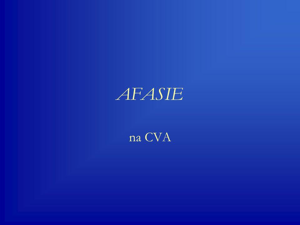 AFASIE na CVA