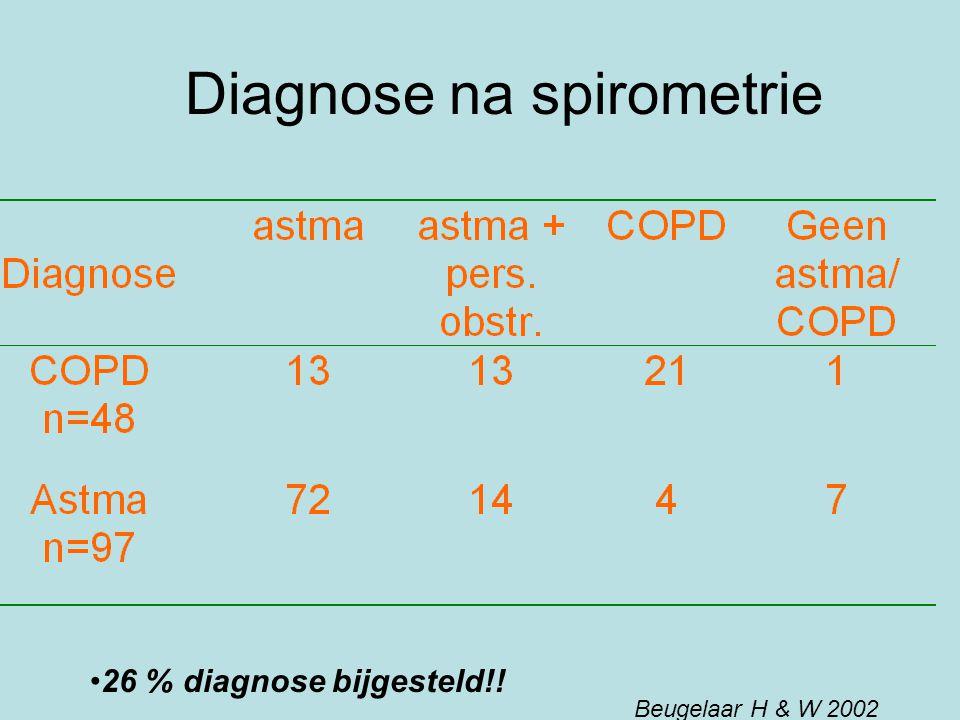 Diagnose na spirometrie