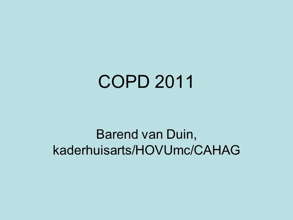 Barend van Duin, kaderhuisarts/HOVUmc/CAHAG