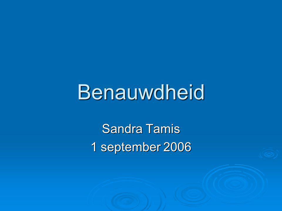 Sandra Tamis 1 september 2006