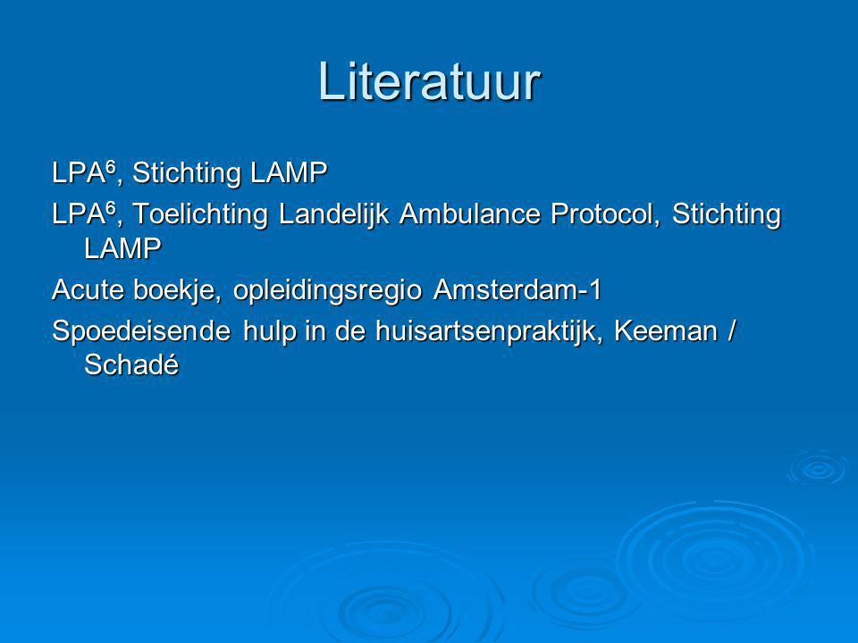 Literatuur LPA6, Stichting LAMP