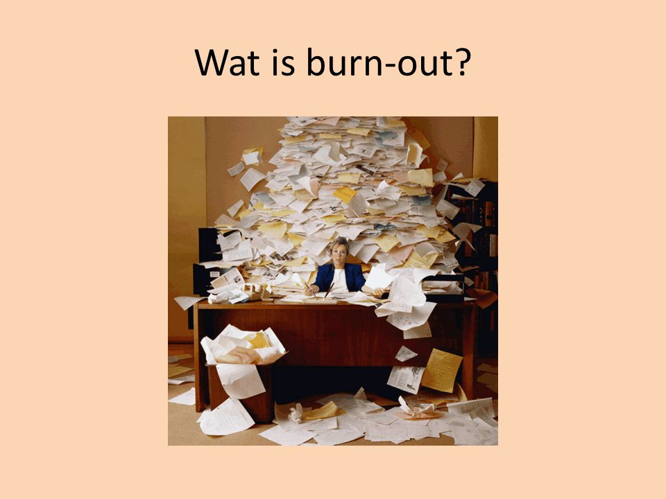 Wat is burn-out