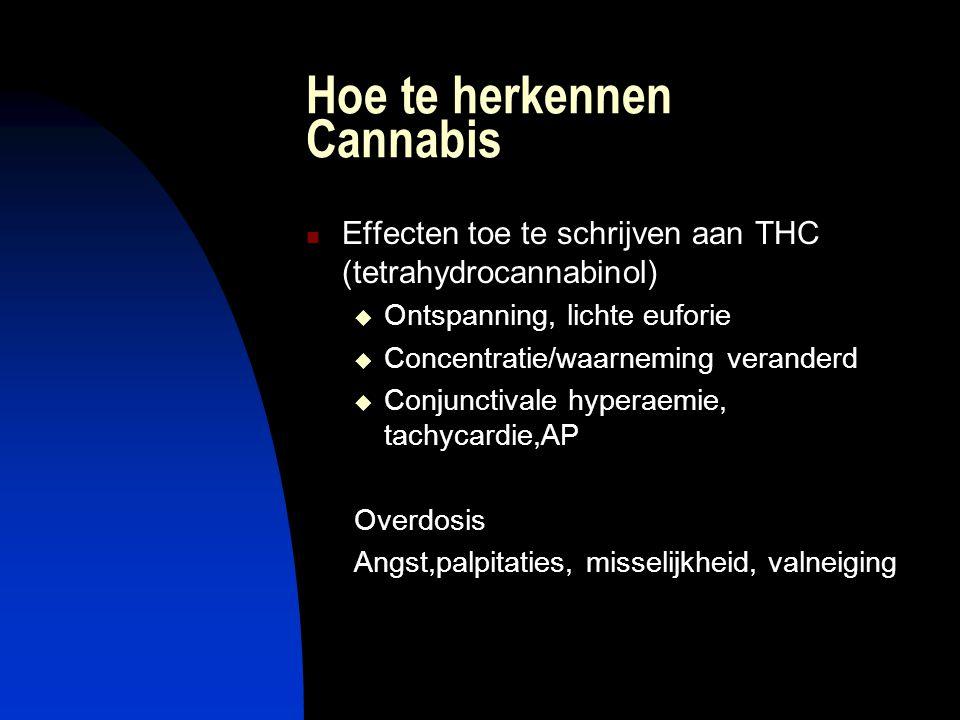 Hoe te herkennen Cannabis
