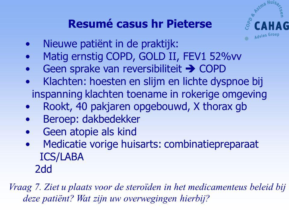 Resumé casus hr Pieterse