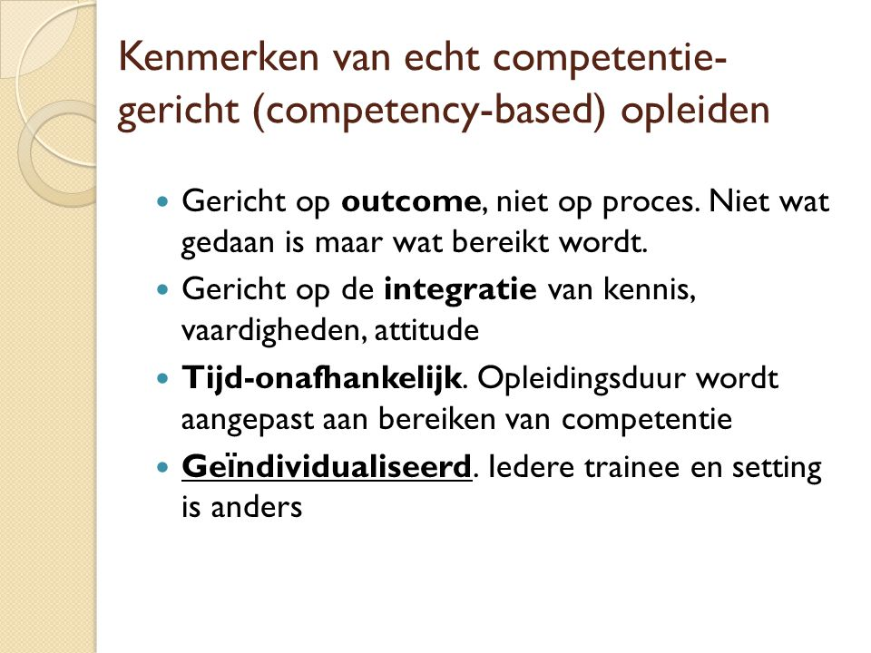 competenties arts umc utrecht