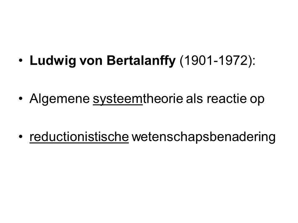 Ludwig von Bertalanffy (1901-1972):