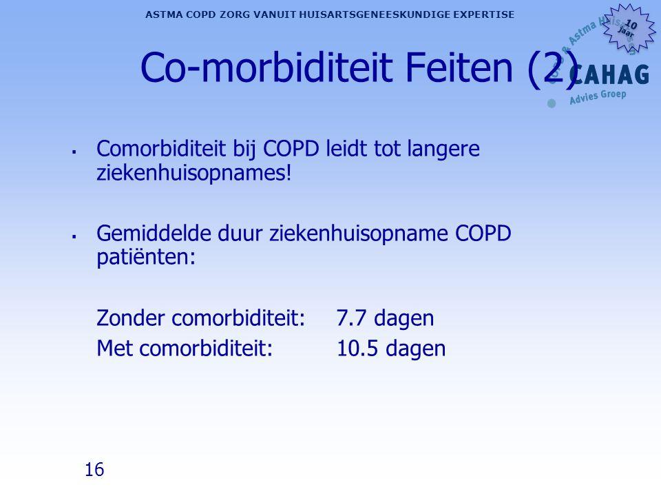 Co-morbiditeit Feiten (2)