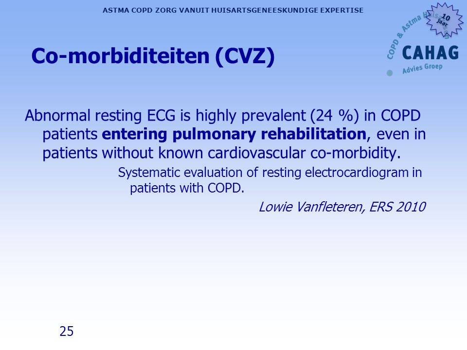 Co-morbiditeiten (CVZ)