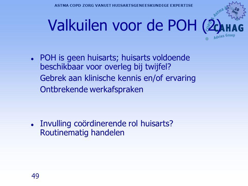 Valkuilen voor de POH (2)