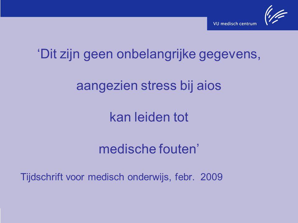 Tijdschrift voor medisch onderwijs, febr. 2009