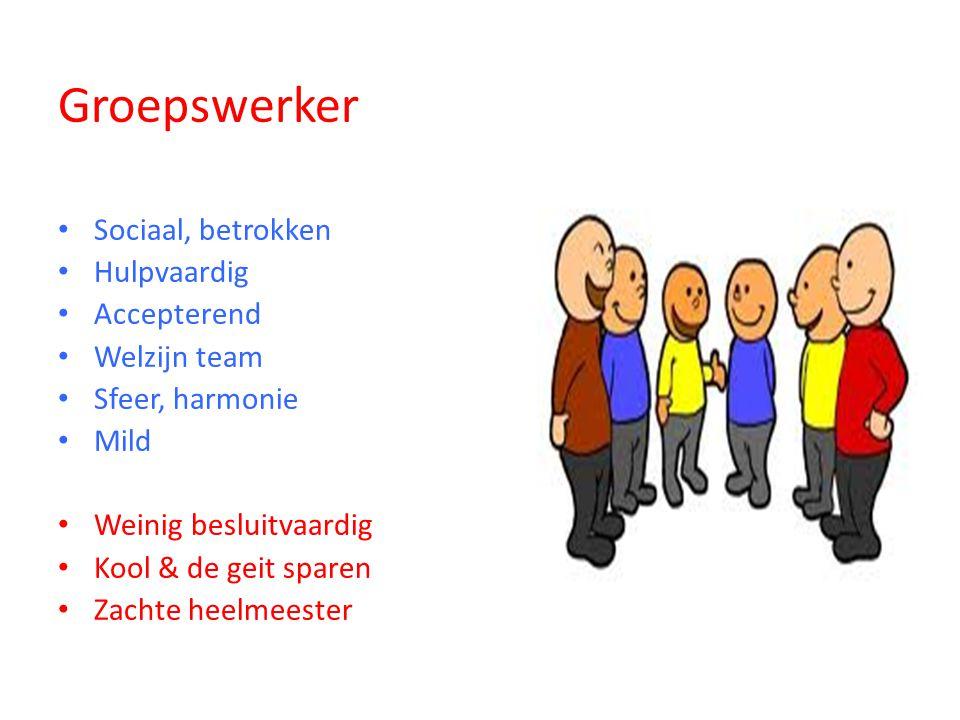 Groepswerker Sociaal, betrokken Hulpvaardig Accepterend Welzijn team