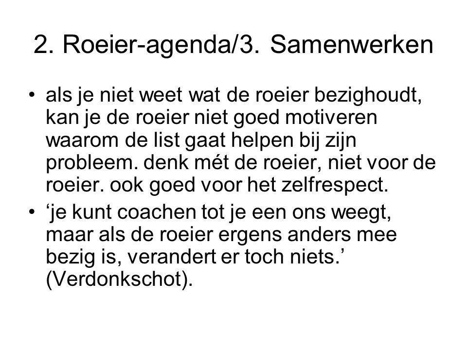 2. Roeier-agenda/3. Samenwerken