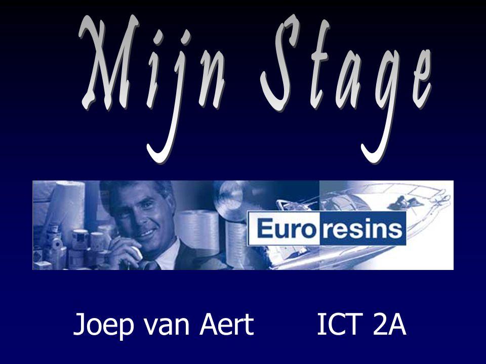 Mijn Stage Joep van Aert ICT 2A