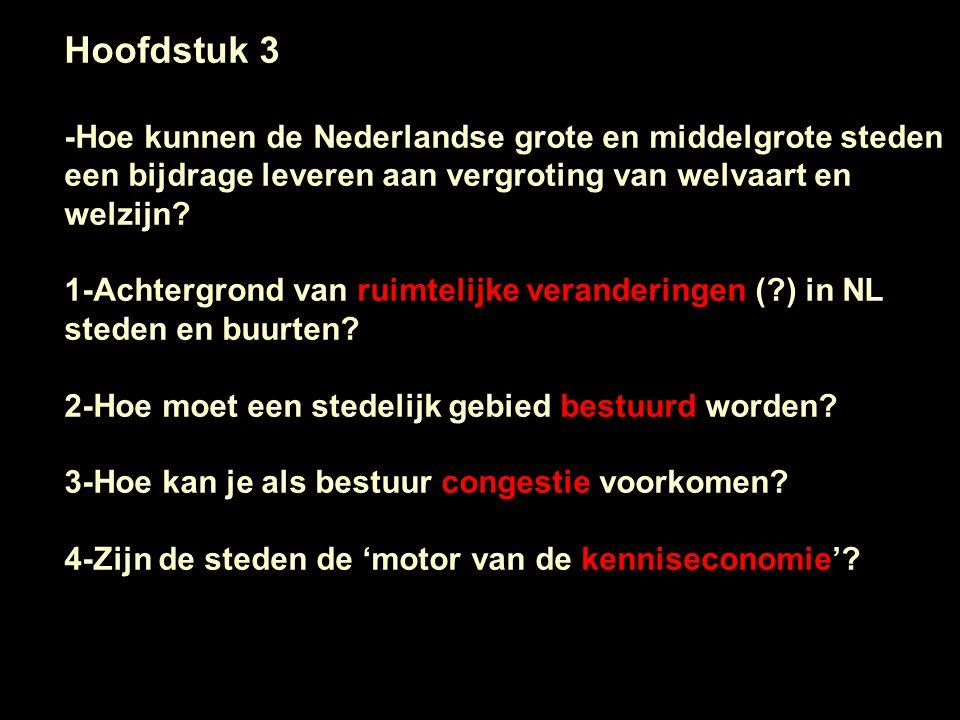 Hoofdstuk 3 -Hoe kunnen de Nederlandse grote en middelgrote steden een bijdrage leveren aan vergroting van welvaart en welzijn