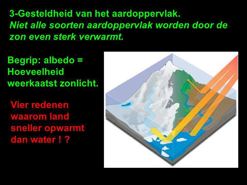 3-Gesteldheid van het aardoppervlak.