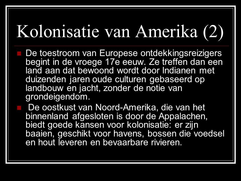 Kolonisatie van Amerika (2)