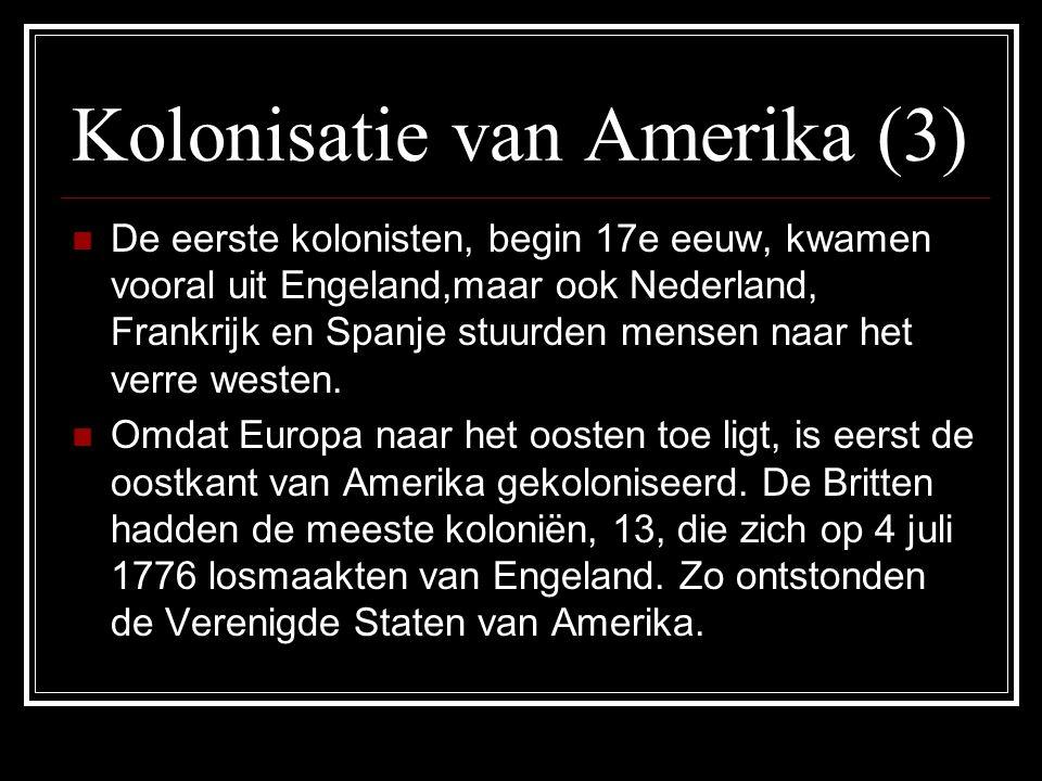 Kolonisatie van Amerika (3)