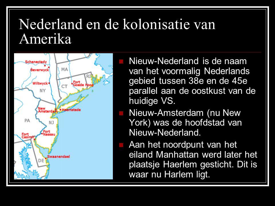 Nederland en de kolonisatie van Amerika