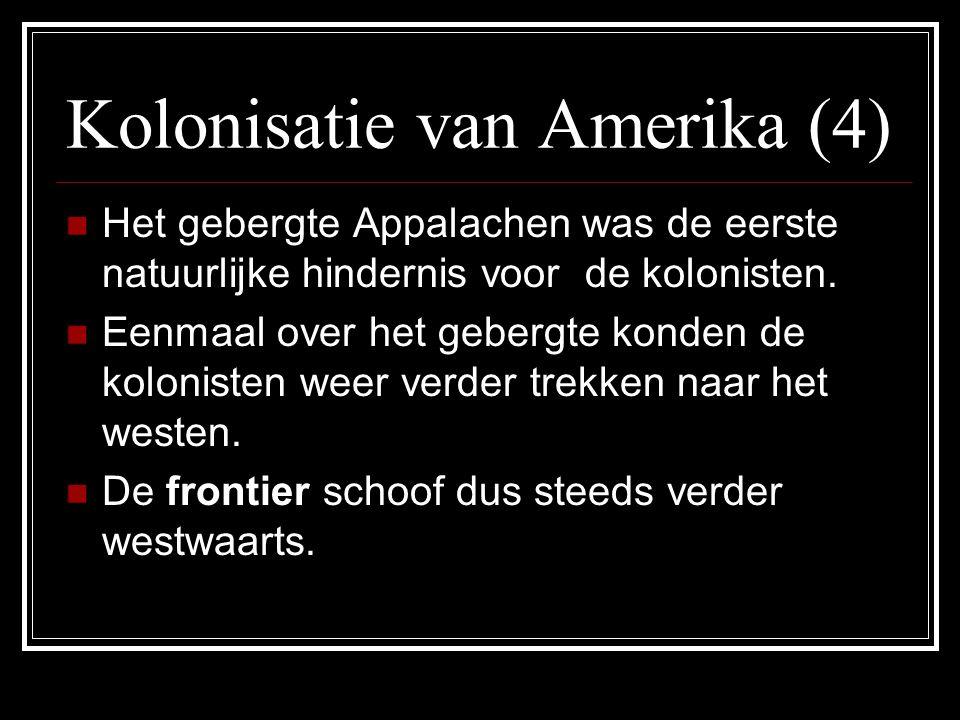 Kolonisatie van Amerika (4)