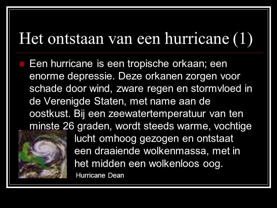 Het ontstaan van een hurricane (1)