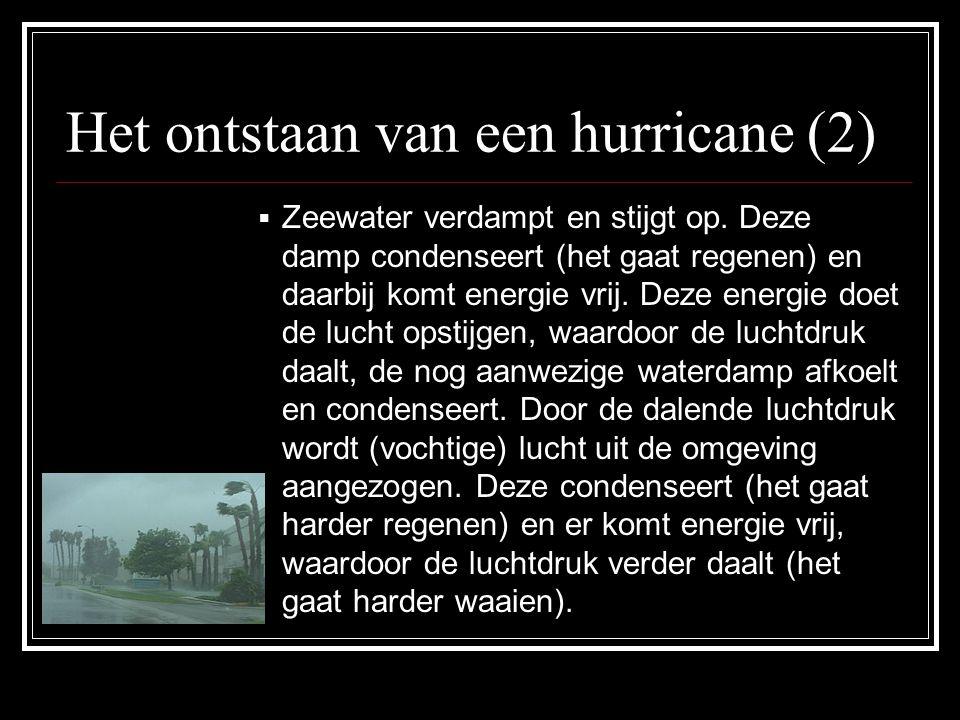 Het ontstaan van een hurricane (2)