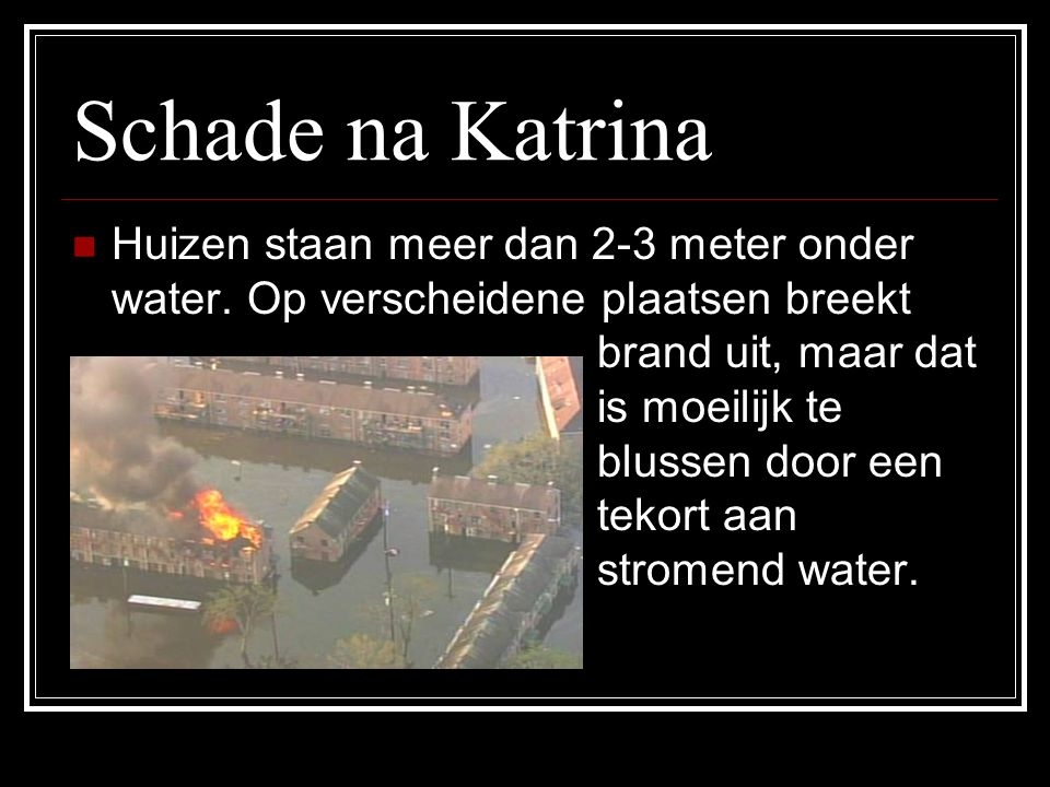 Schade na Katrina
