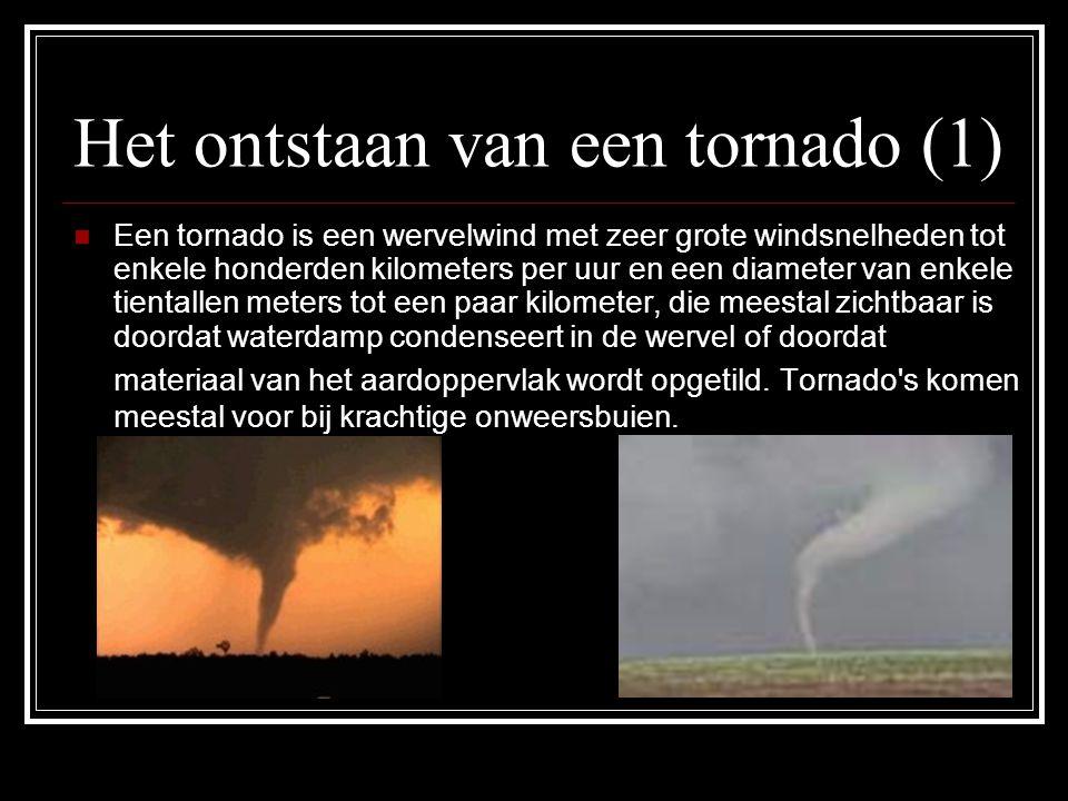 Het ontstaan van een tornado (1)