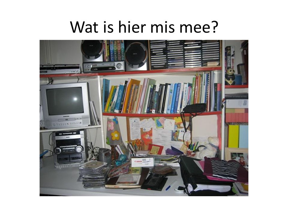 Wat is hier mis mee