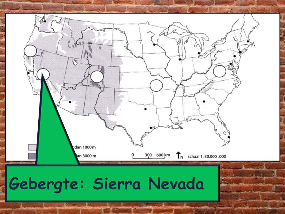 Gebergte: Sierra Nevada