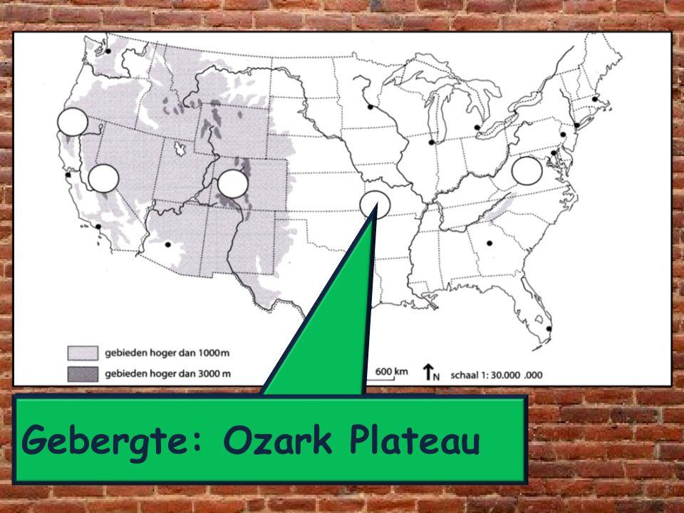 Gebergte: Ozark Plateau