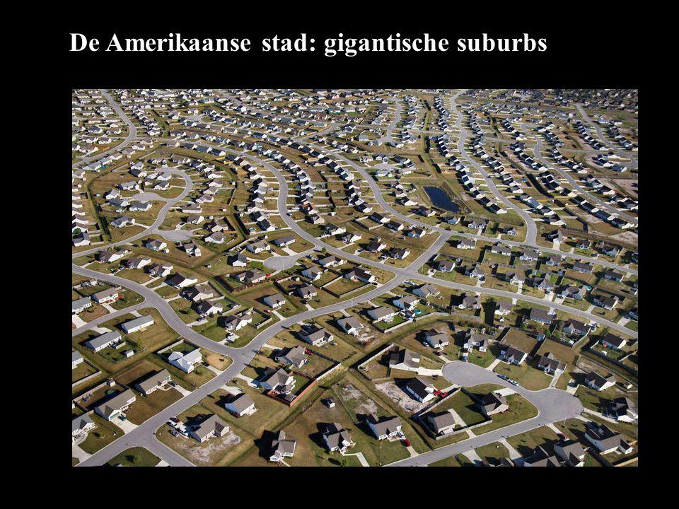 De Amerikaanse stad: gigantische suburbs
