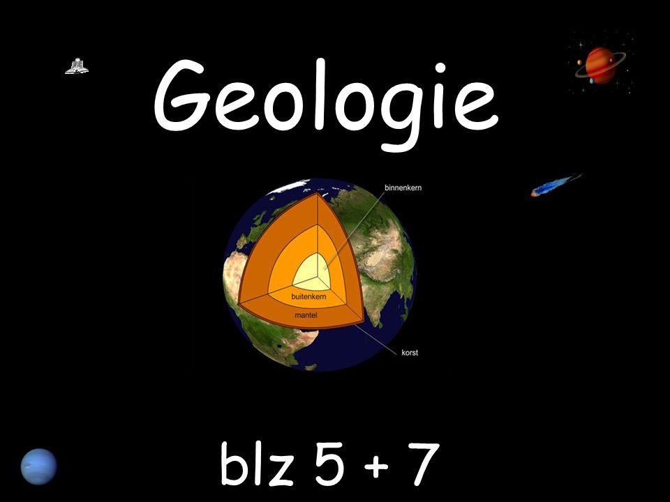 Geologie blz 5 + 7