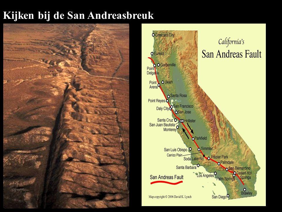 Kijken bij de San Andreasbreuk