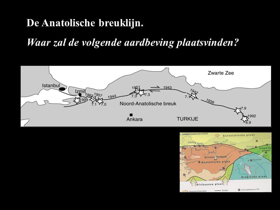 De Anatolische breuklijn.