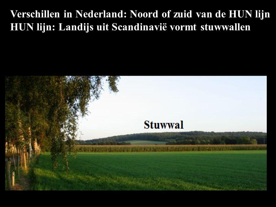 Verschillen in Nederland: Noord of zuid van de HUN lijn