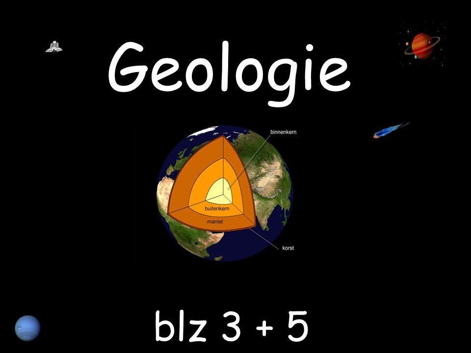Geologie blz 3 + 5