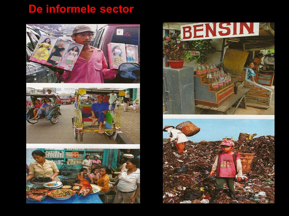 De informele sector