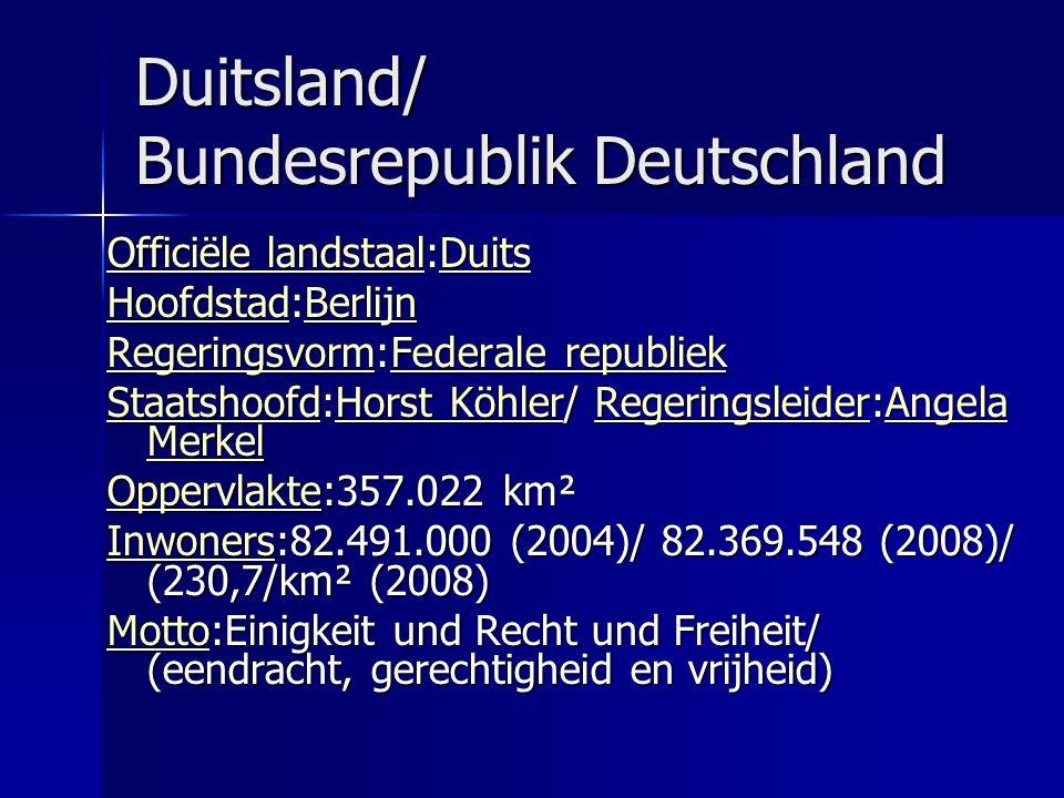 Duitsland/ Bundesrepublik Deutschland