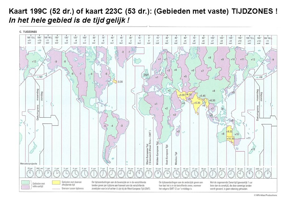 Kaart 199C (52 dr. ) of kaart 223C (53 dr