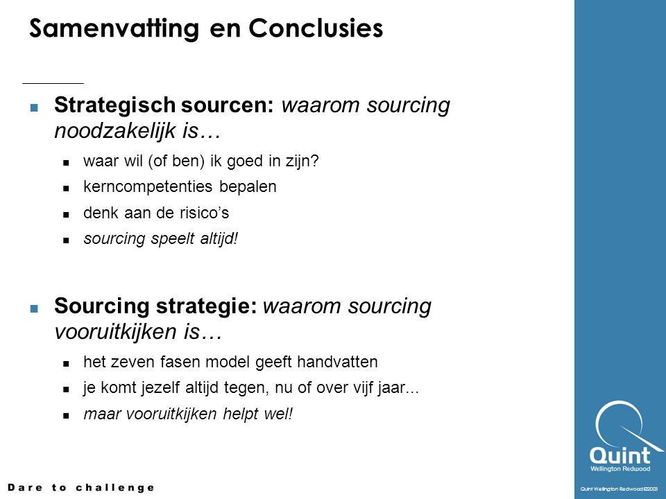 Samenvatting en Conclusies