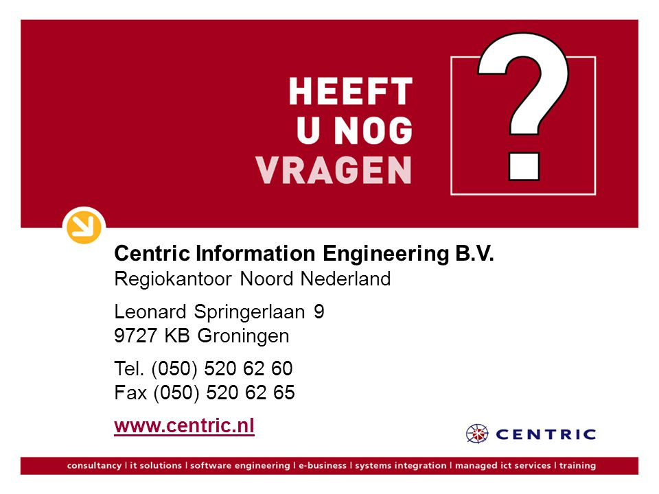 Centric Information Engineering B. V