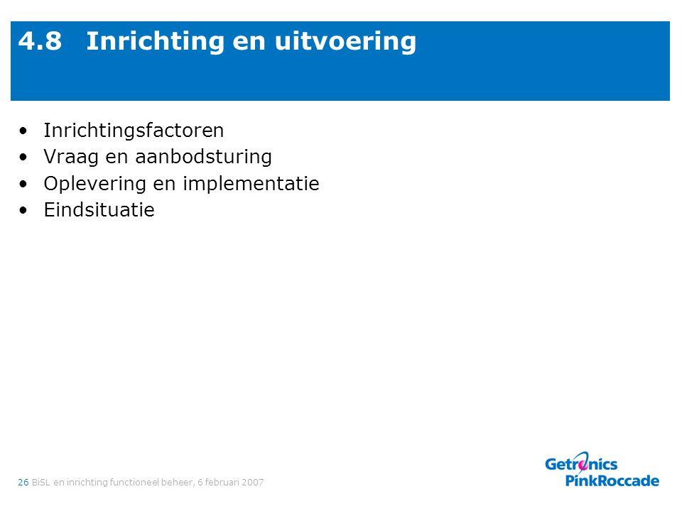 4.8 Interne inrichtingsfactoren